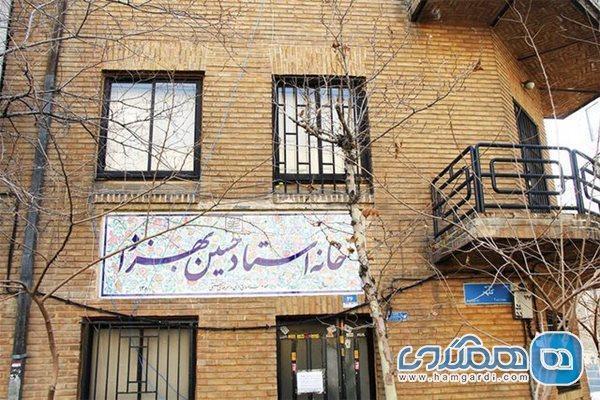 خانه حسین بهزاد پایگاه هنرمندان خلاق صنایع دستی شد