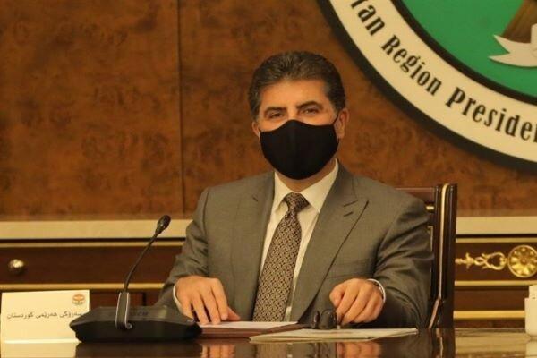 رئیس اقلیم کردستان عراق با پادشاه اردن ملاقات کرد