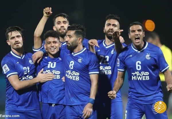 (عکس) استقلال پرافتخارترین تیم ایران