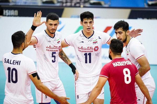 5 ایرانی در جمع برترین های مسابقات والیبال قهرمانی آسیا