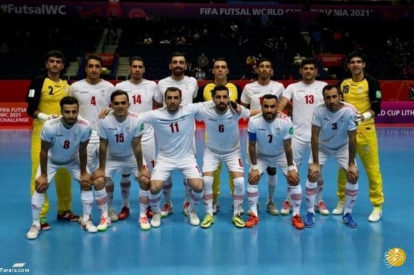 ساعت بازی فوتسال ایران ، آرژانتین در جام جهانی